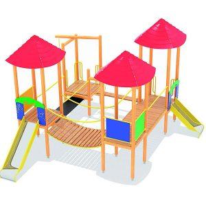 Spielplätze (Holz)